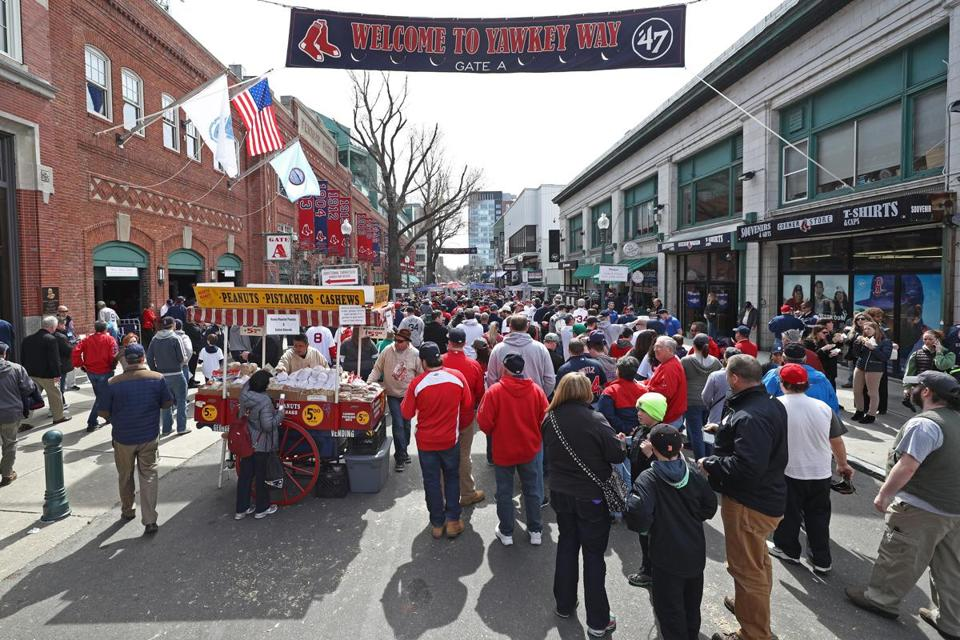 Red Sox file petition to officially change name of Yawkey Way